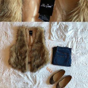 Fur Vest - Vintage